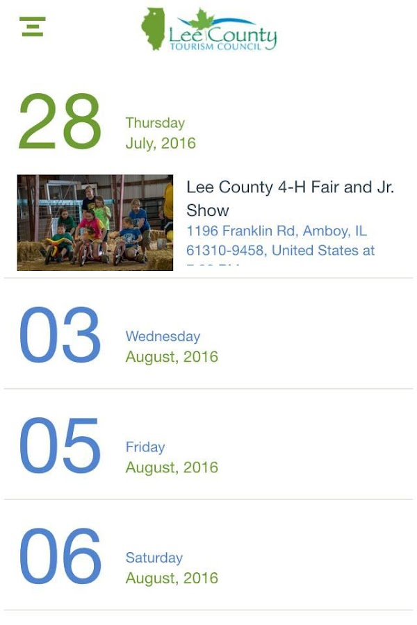 Go Do Lee County, IL- screenshot