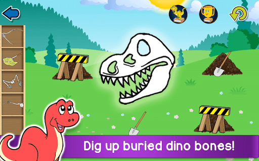 Kids Dino Adventure Game - Free Game for Children screenshots 2