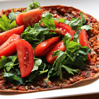 Turkish Pizza (Lahmacun)