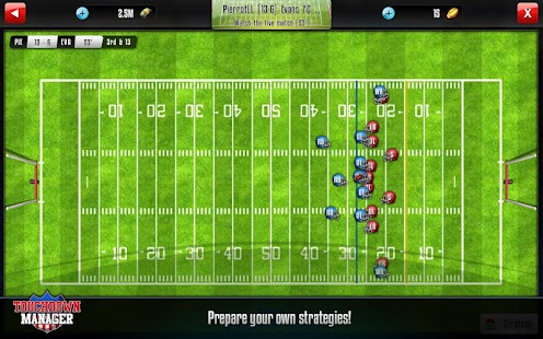 Touchdown Manager- screenshot thumbnail