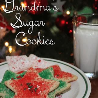 Grandma's Sugar Cookies