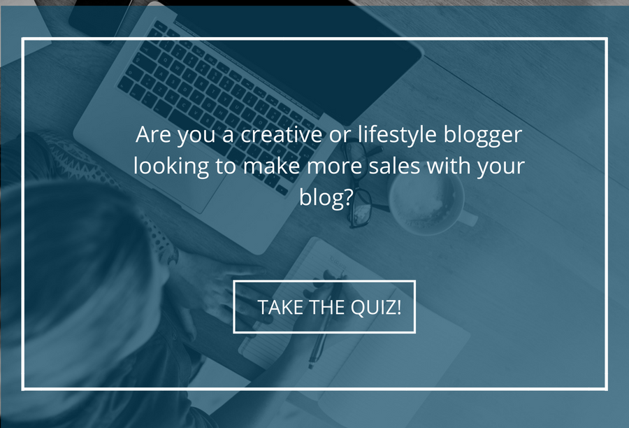 Creative or Lifestyle blogger