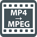Convert MP4 to MPEG icon