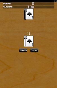 Kartu 21 screenshot