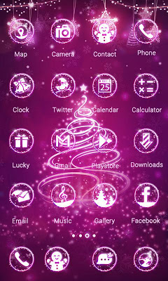 Shining christmas-ZEROLauncher - screenshot