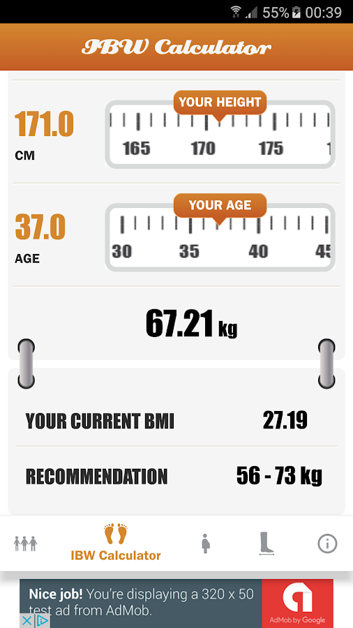 BMI - Women's Assistant- screenshot