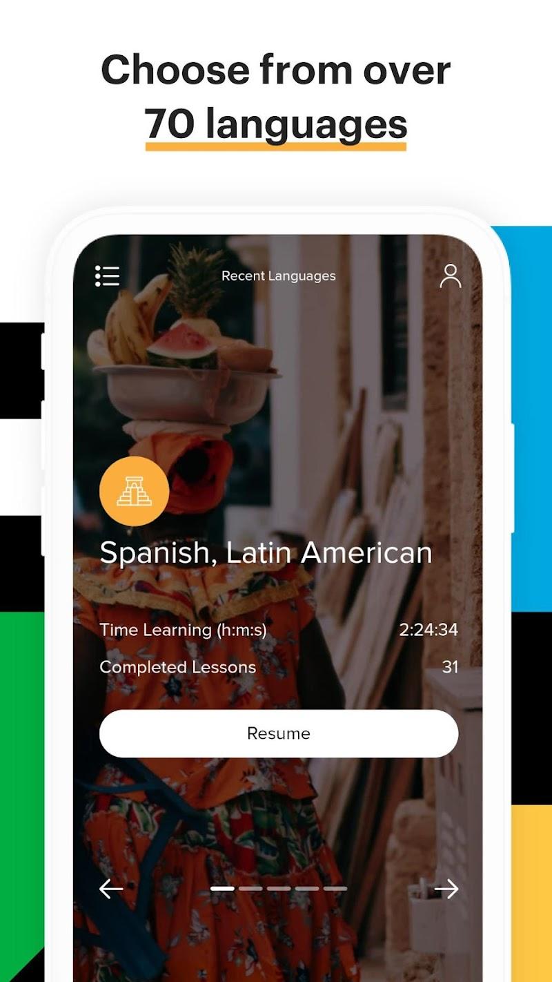 Mango Languages: Personalized Language Learning Screenshot 0
