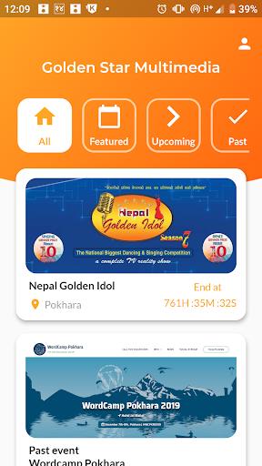 GSM | Golden Star Multimedia | Nepal Golden Idol 1.3.0 screenshots 1