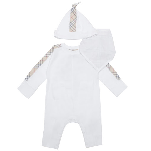 Primary image of Burberry Babygrow Gift Set