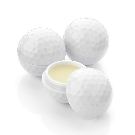 Lip Balm Golf Ball