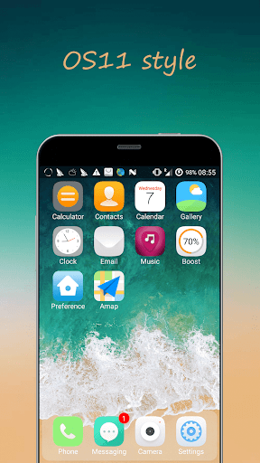iLauncher os13 theme for phone x 3.10.1 screenshots 1