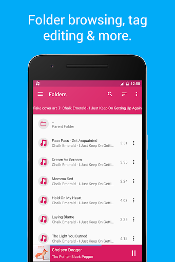Shuttle Music Player app (apk) free download for Android/PC/Windows screenshot