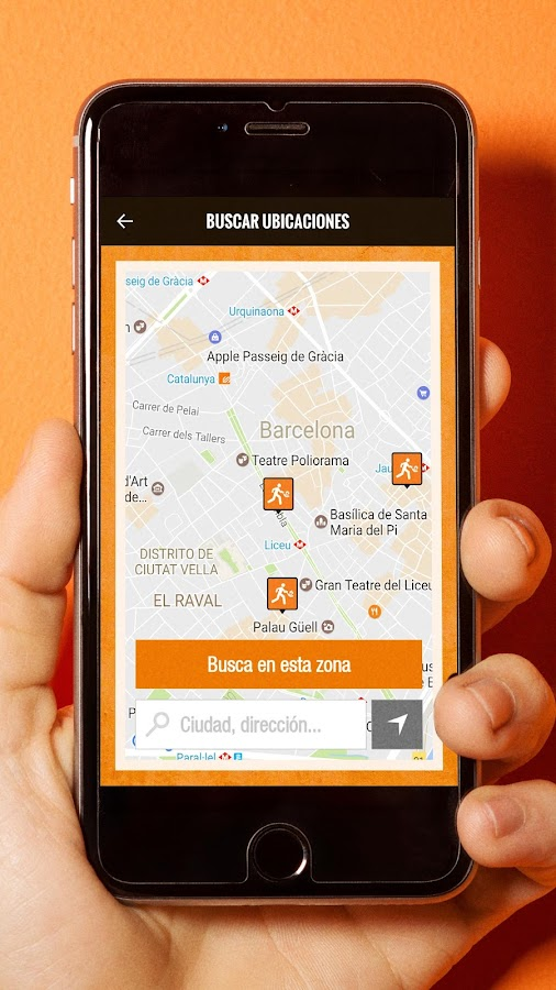 Wok To Walk App: captura de pantalla