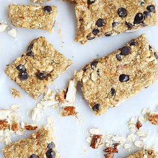 Healthy Peanut Butter Pretzel Energy Bars