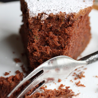 Chocolate Cake with Peppermint Frosting.