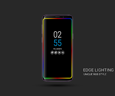 Always on AMOLED | Edge Lighting  Mod