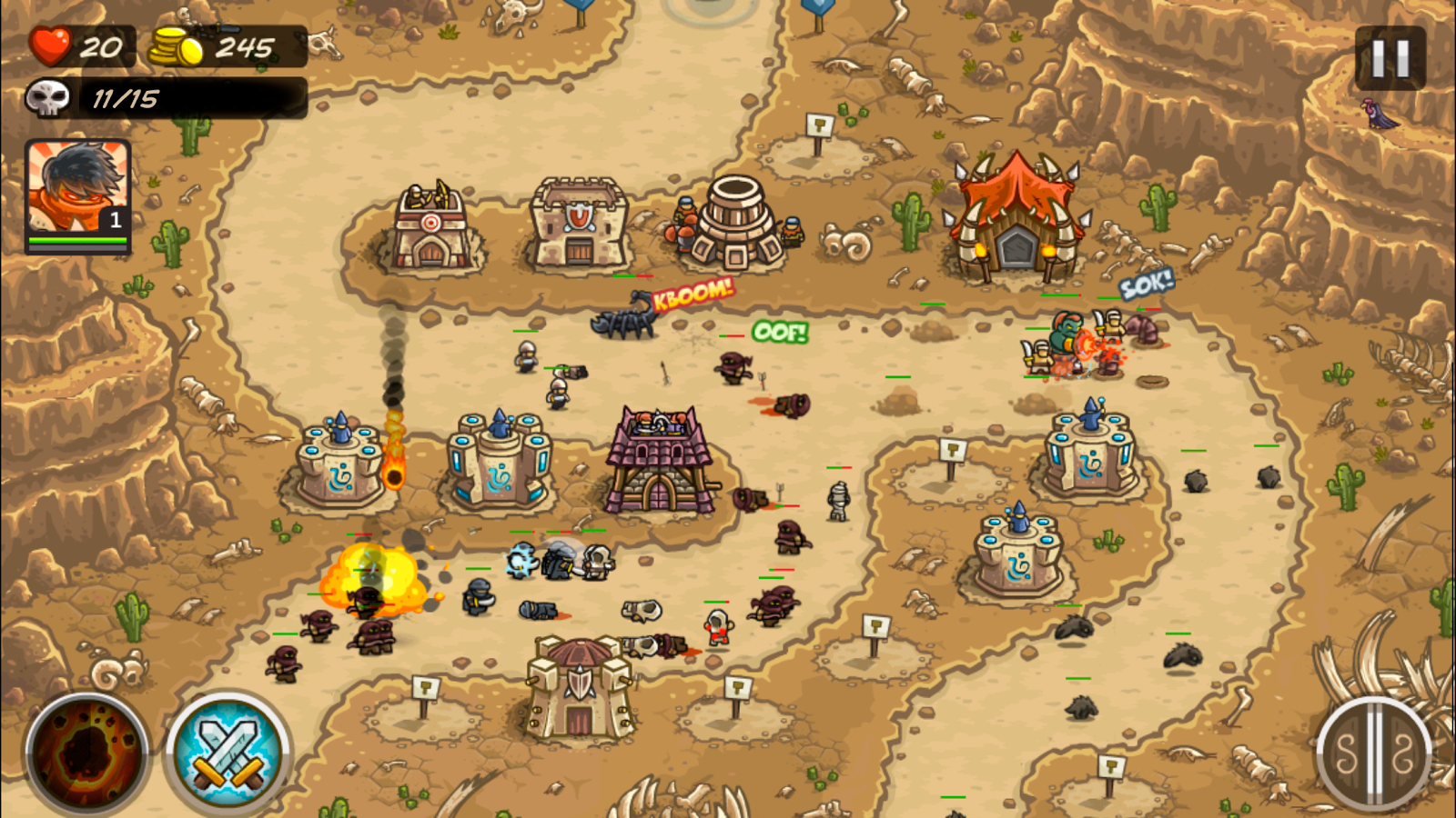 Kingdom rush frontiers review - Kingdom Rush Frontiers Screenshot