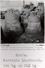 Photo: 1943 Kerkklokken uit diverse Westbrabantse kerken of kapellen, die door de Duitse bezetting werden gevorderd