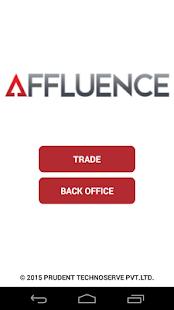 Affluence screenshot