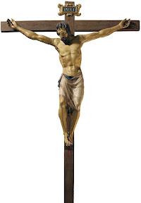 Donatello, Crocifisso, 1407 - 1408 ca., legno policromo, Basilica di Santa Croce, Firenze
