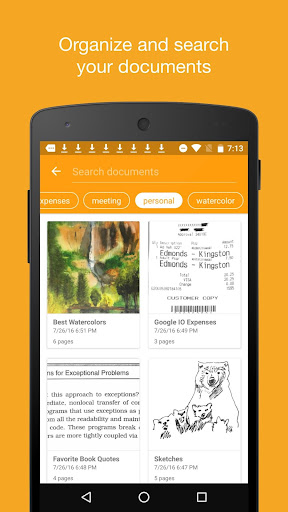 Genius Scan+ - PDF Scanner para Android