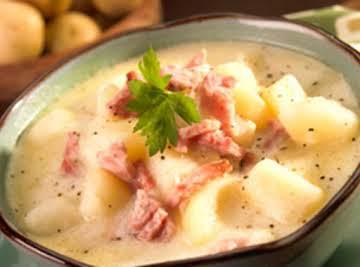 Eric's Ham and Ham and Potato Soup
