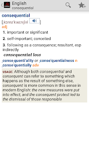 Collins English Dictionary TR - screenshot thumbnail