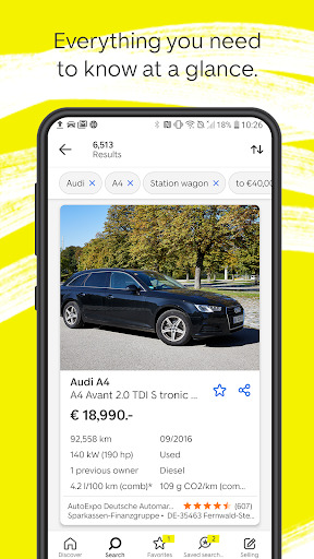 AutoScout24 - used car finder  screenshots 4