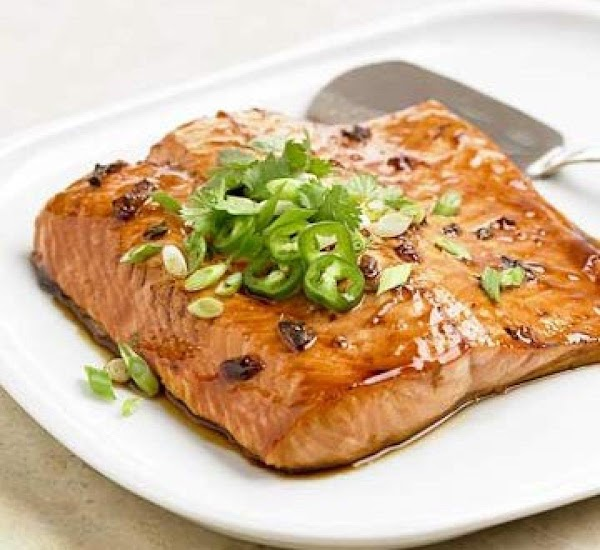 Pepper Jelly And Soy Glazed Salmon Recipe