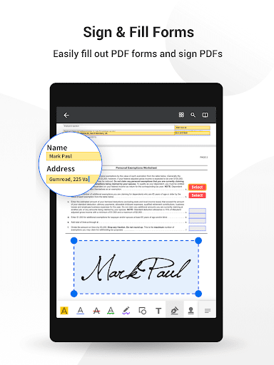 PDF Reader Pro-Annotate,Edit,Fill,Sign,Epub Reader google_1.4.7 Apk for Android 16
