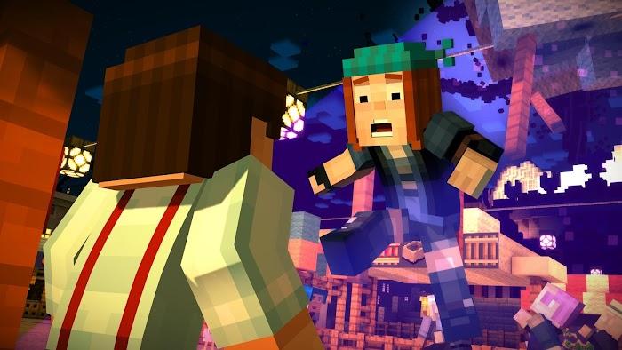 Minecraft: História Mode tela capturada