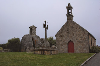 Photo: BRETANYA 2013. .BRIGNOGAN, Chapelle Pol