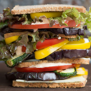 Veggie Dagwood Sandwiches.
