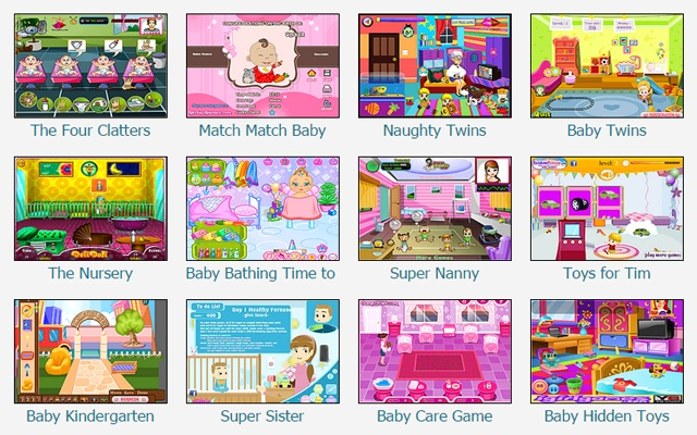 baby games chrome web store