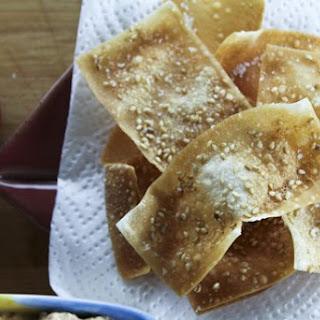 Sesame Wonton Crisps Recipe