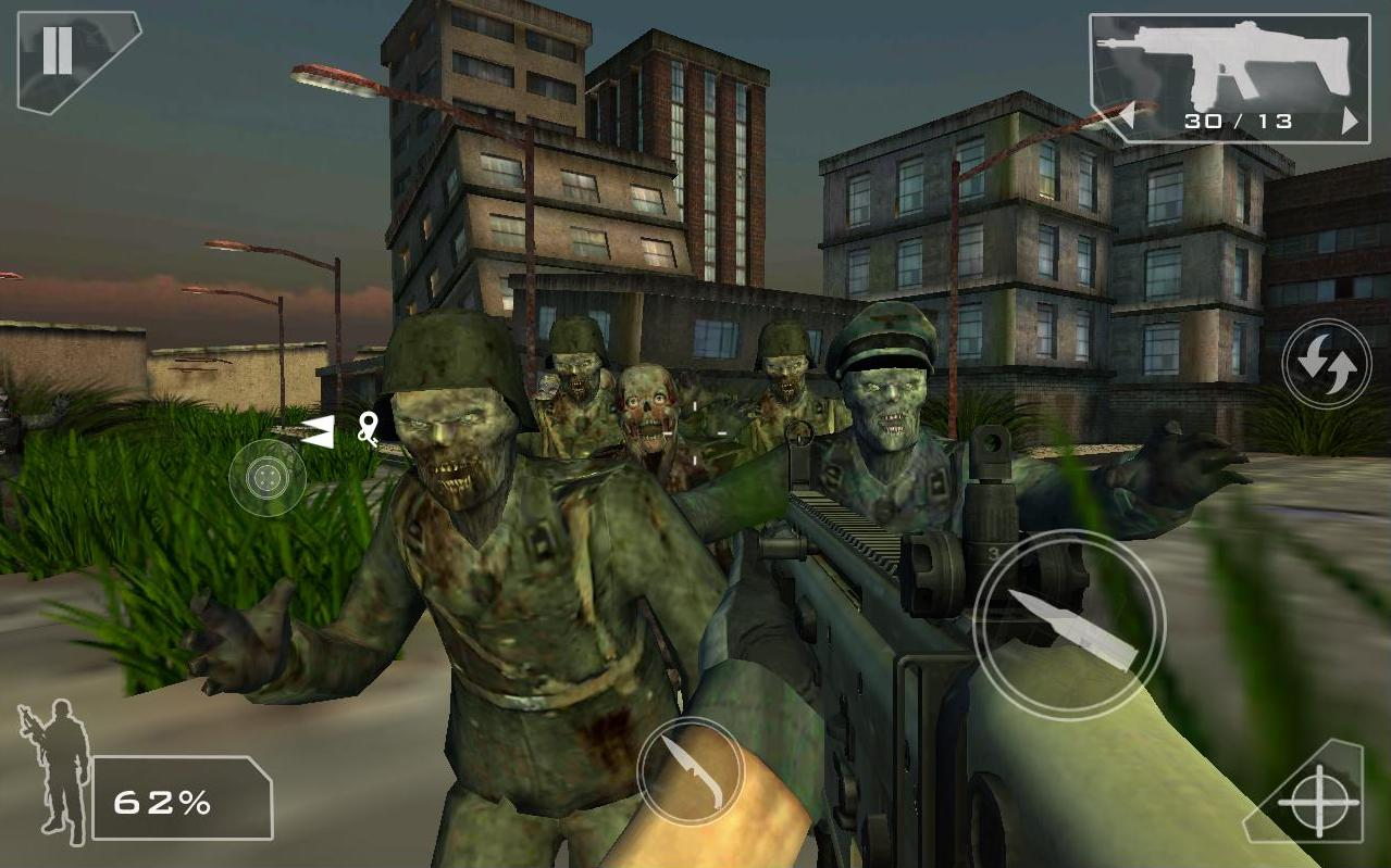Green Force: Zombies HD- screenshot