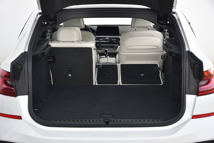 Flexibility allows the boot to hold up to 1,800l