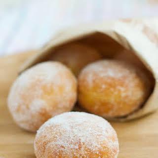 Meyer Lemon Doughnuts.