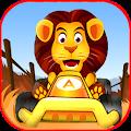Jungle Animal Car Racing Track