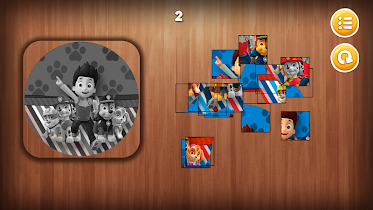 Paw Puppy Patrol Puzzle - screenshot thumbnail 01