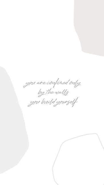 Walls You Build Yourself - Facebook Story Template