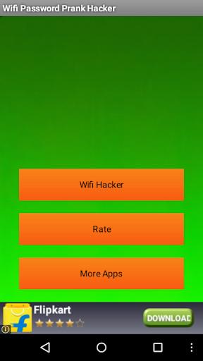 Wifi-prank password hacker App