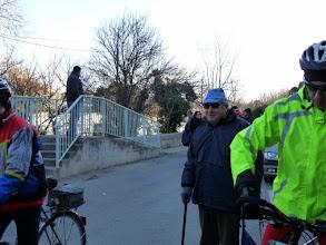 """Photo: Jo DURAND a fait venir son """"mentor"""" sur la ligne de départ"""