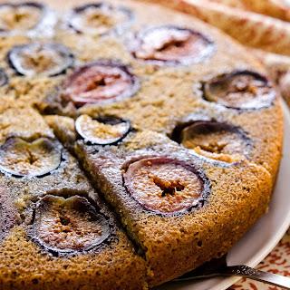 Vanilla Fig Cake.