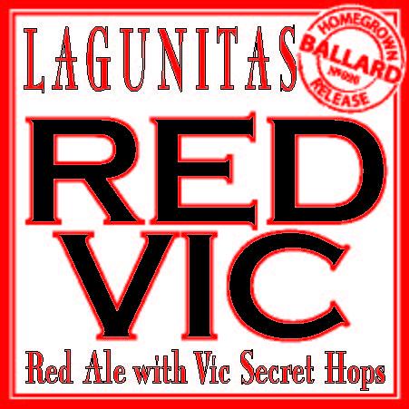 Logo of Lagunitas Red Vic