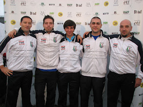 Photo: Coaches Italy. Alberto Pirovano, Niccolo Perazzolo, Emanuele Prestinari, Claudio Santopietro and Juri Ghiraldi. Photo: Bengt Svensson