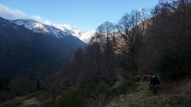 Photo: Après le départ du pont de Lapade il reste encore 1200 m de dénivelé