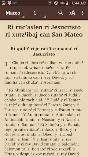 Kaqchikel Sacatepu00e9quez - Bible  screenshots 2