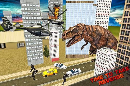 街の恐竜の大暴れ2016