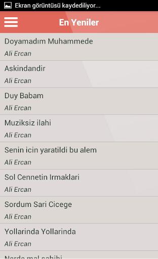 Ali Ercan İlahileri Dinle